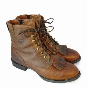 Ariat Heritage Lacer II Distressed Brown boot